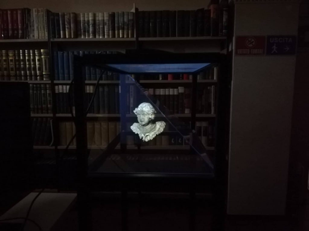 Sala degli ologrammi - Palazzo comunale - Cupramontana