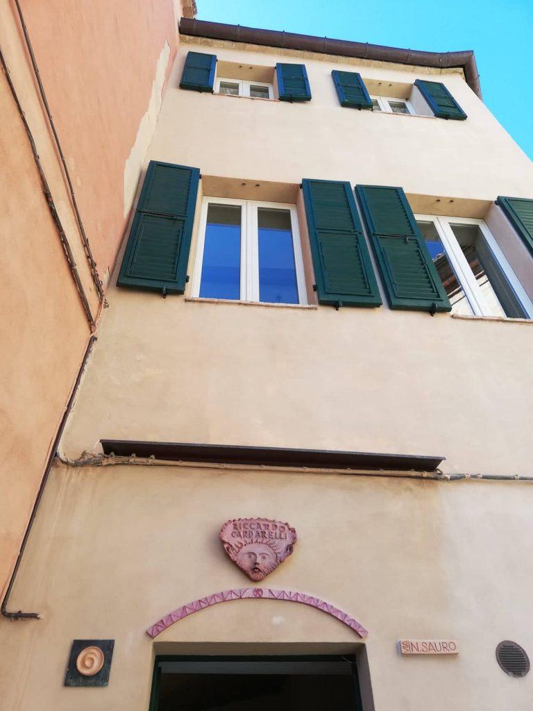 Cupramontana photowalk: casa storica di Riccardo Cardarelli