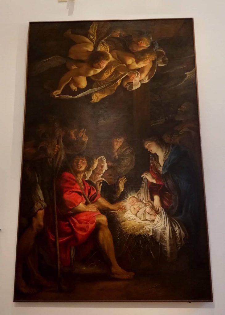 Adorazione dei Pastori di Rubens - Fermo