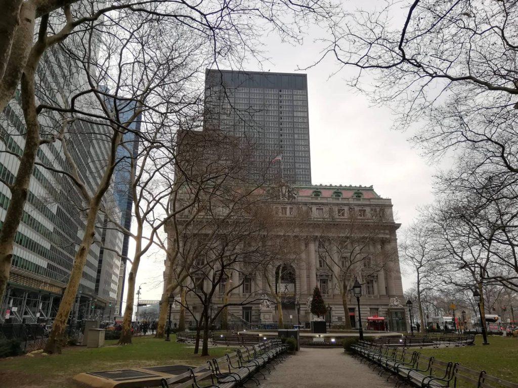 Bowling Green Park - il primo parco pubblico di Manhattan