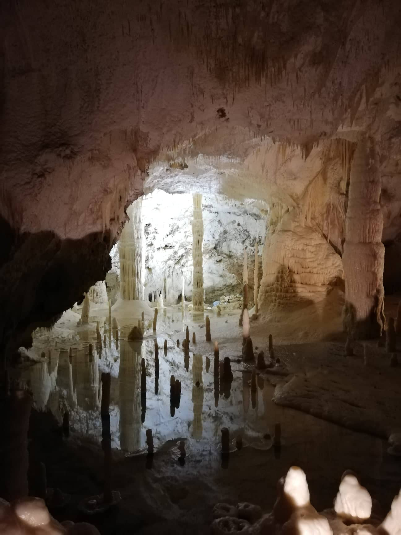 grotte di Frasassi - Sala delle Candeline- cosa aspettarsi dalla visita - destinazionemarche
