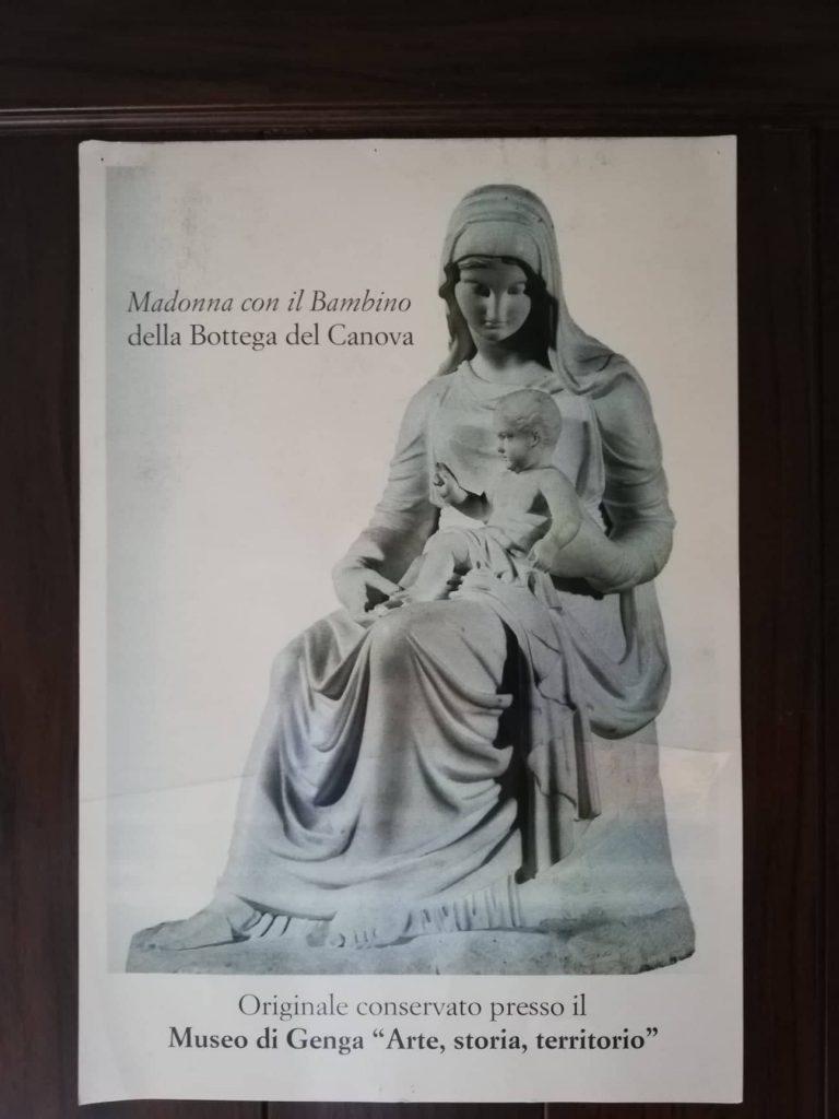 Madonna con il Bambino - Canova - Genga visitare il Tempio del Valadier