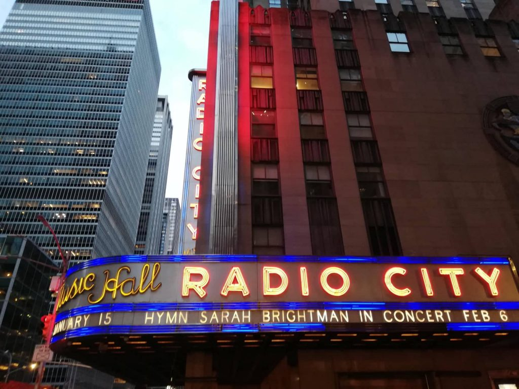 New York infestata dai fantasmi - Radio City Music Hall