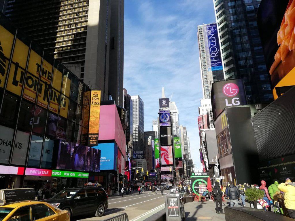 Curiosità su New York - Times Square