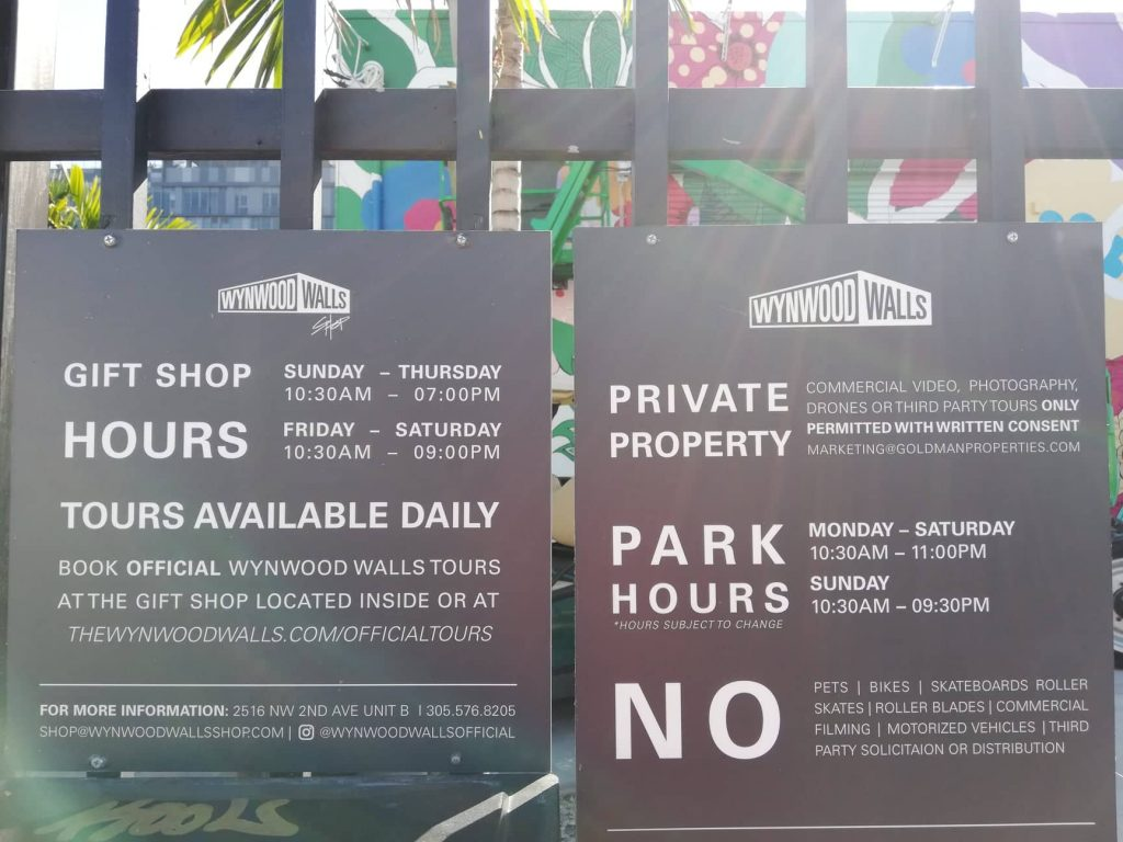 Wynwood Walls - Wynwood Art District Miami - Opening Hours and tours
