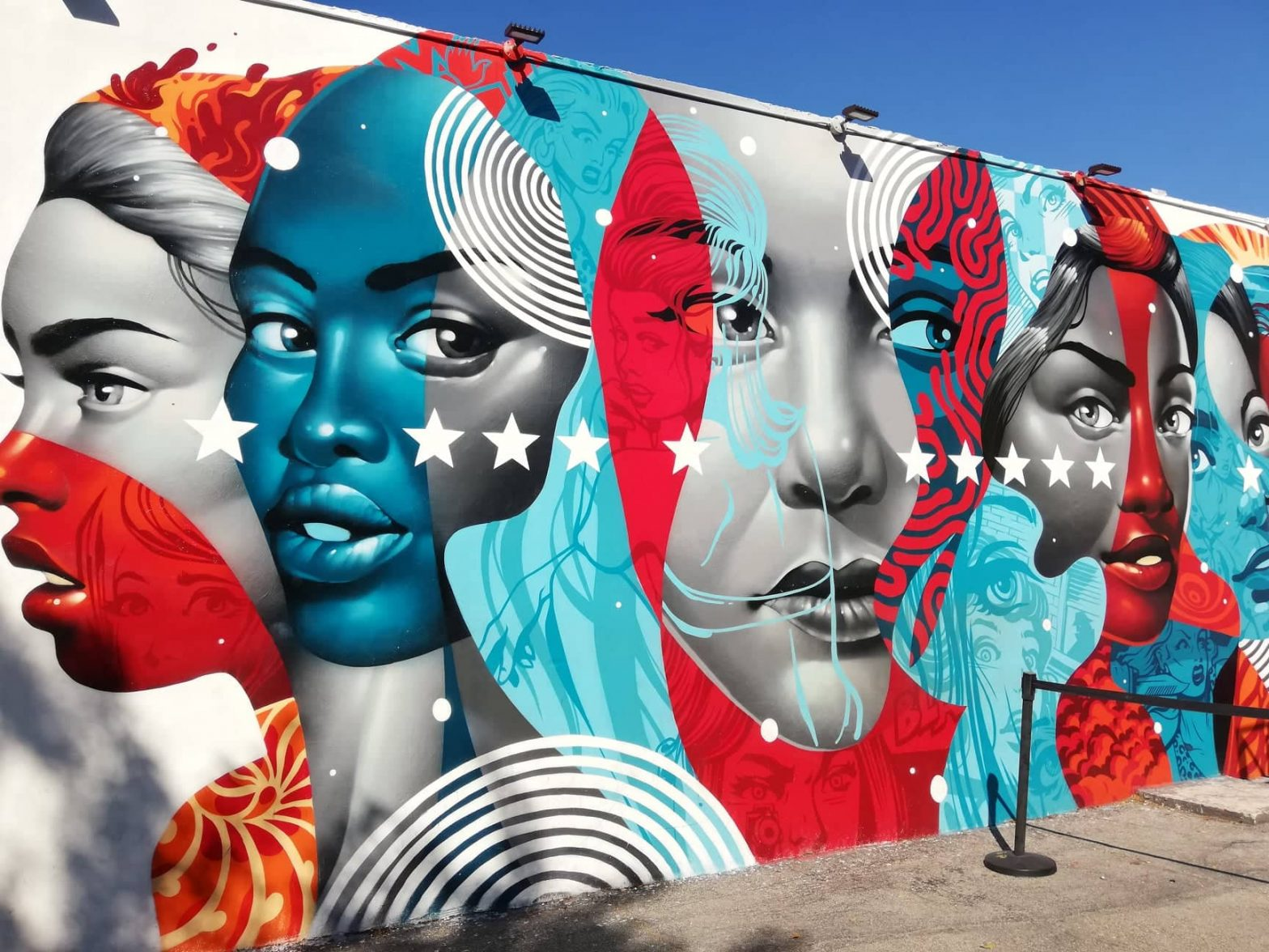 Wynwood art District Miami American power Wynwood Walls