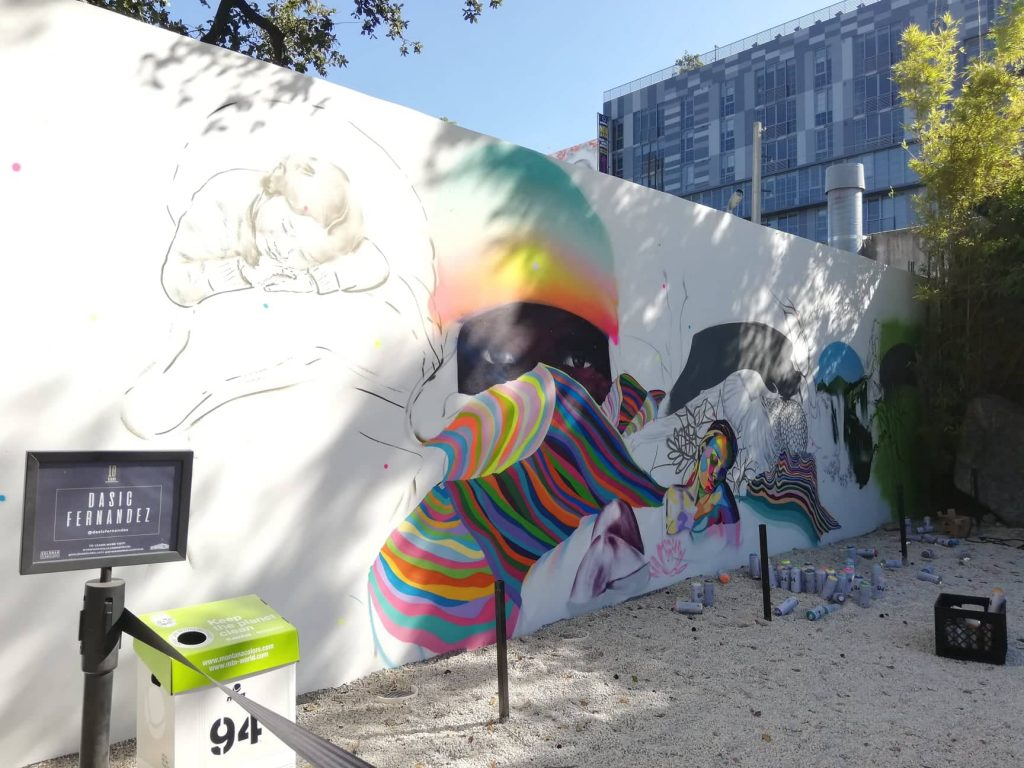 Wynwood Walls - Wynwood Art District Miami - Work in progress