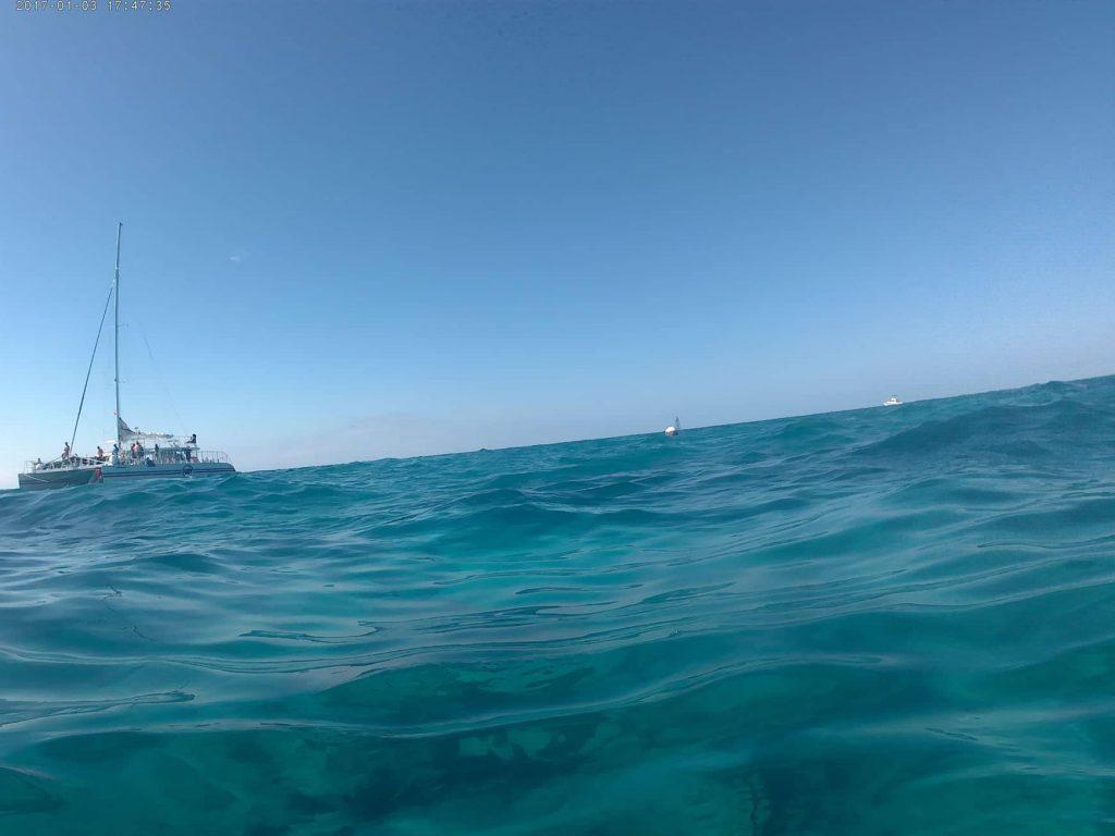 Il nostro catamarano per il tour di snorkeling con Fury Key West