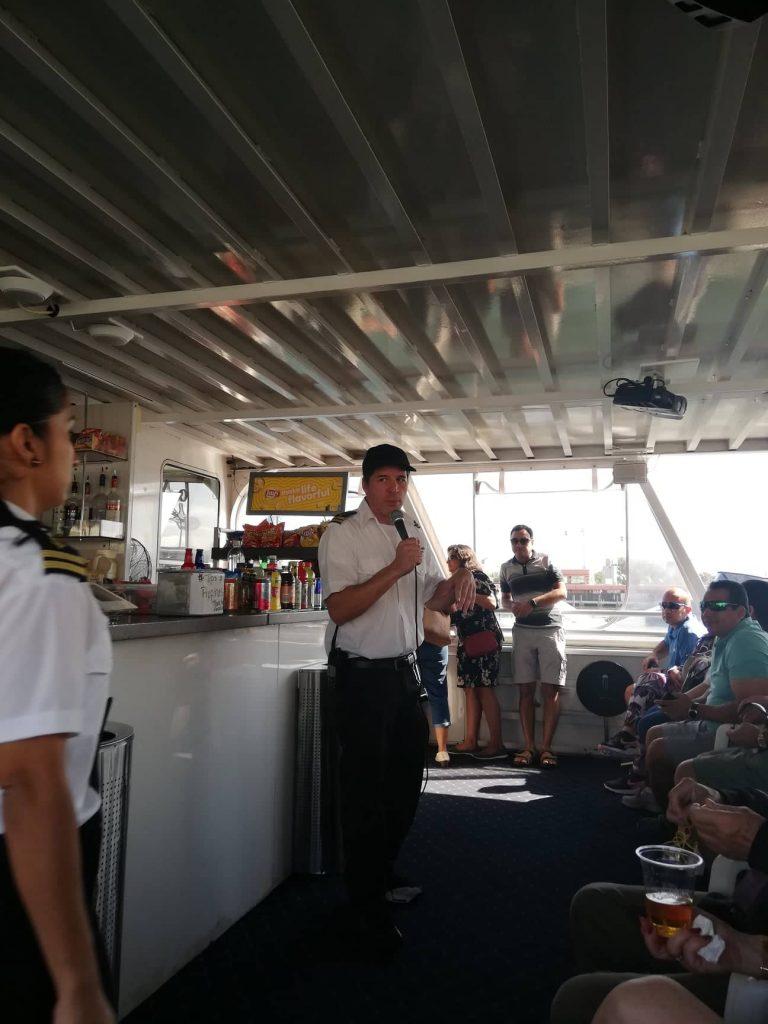 La nostra guida durante Millionaire's Row cruise - Miami