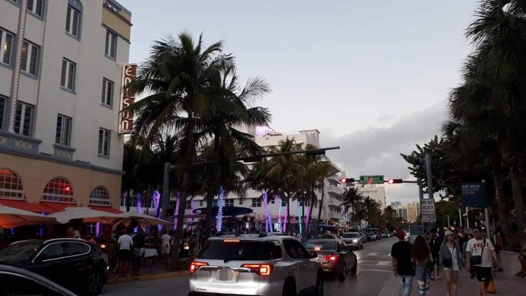 Come spostarsi a Miami - Traffico lungo Ocean drive