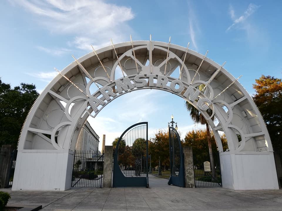 New Orleans - Louis Armstrong Park New Orleans città fuori dagli schemi