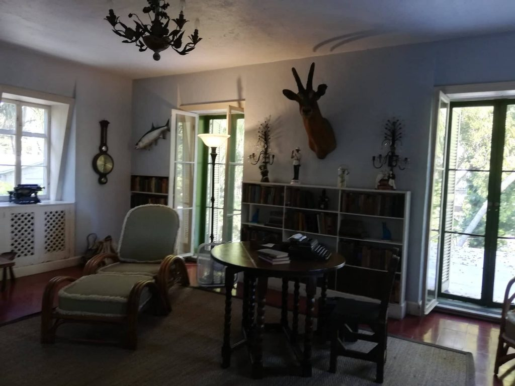 Studio di Hemingway al primo piano del fienile- Key West