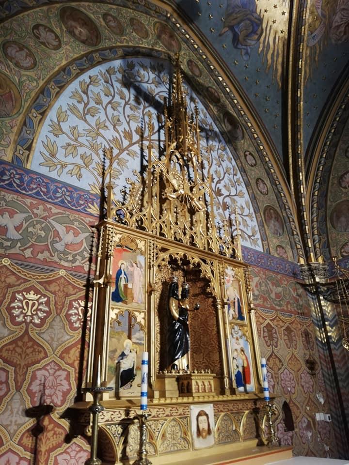 Cappella dedicata alla Madonna di Loreto - Chiesa di Mattia - Budapest