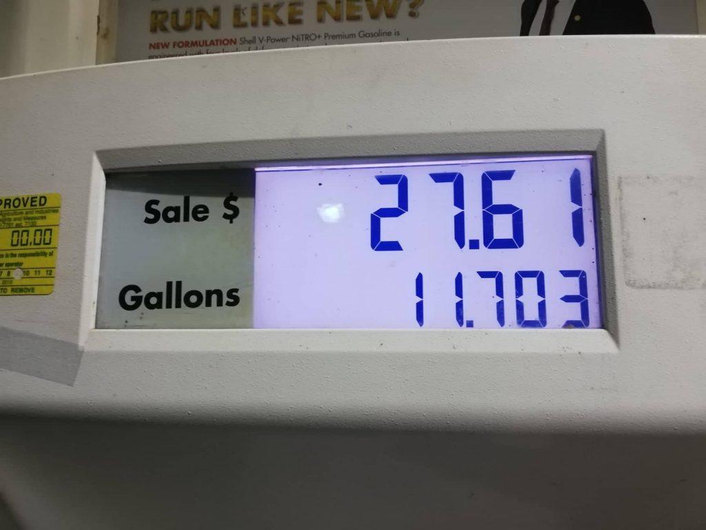 Costo di un pieno di benzina in Florida - Come mettere benzina negli Stati Uniti