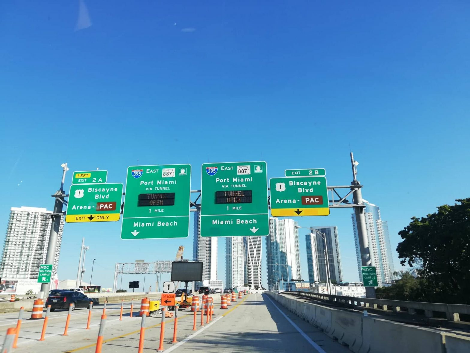 come spostarsi a Miami traffico autostrade