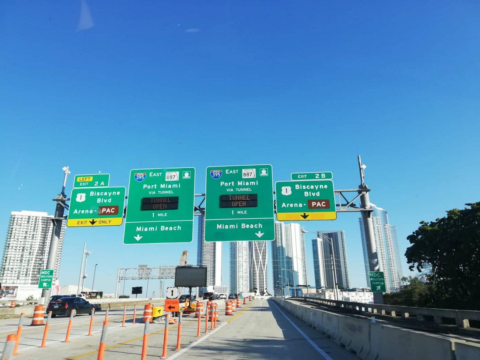 come spostarsi a Miami traffico autostrade