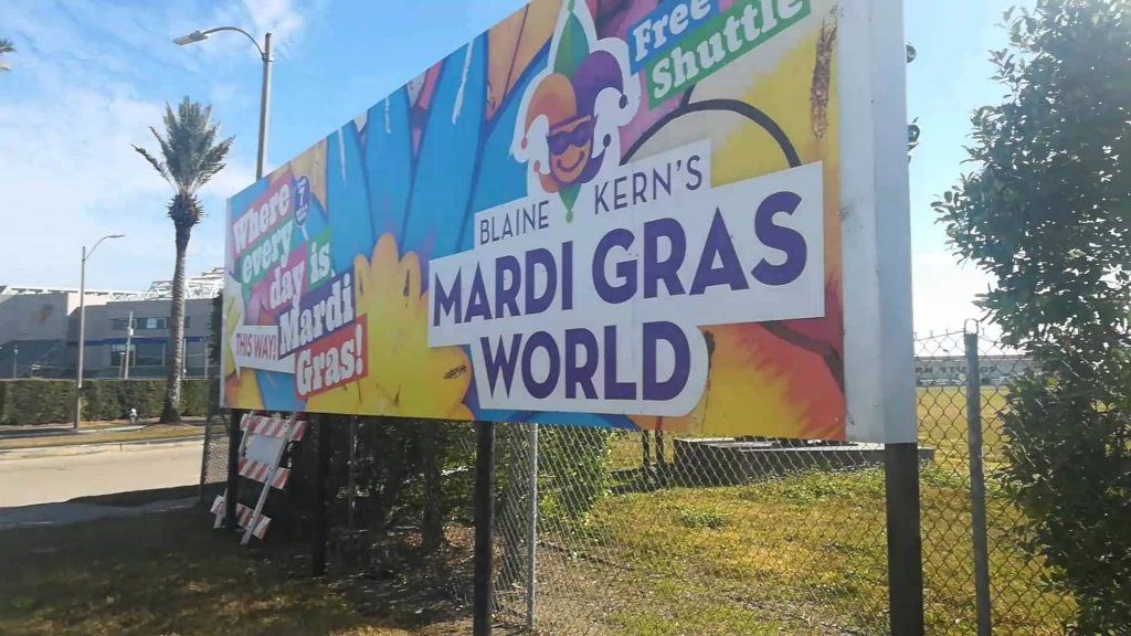 Visita al Mardi Gras World - New Orleans