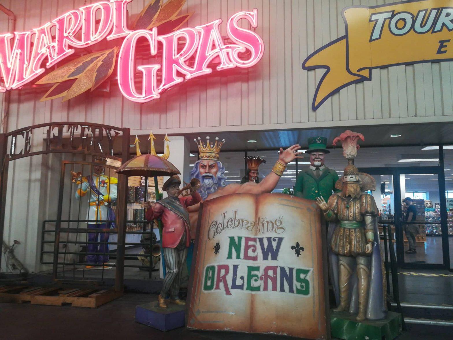 visita al Mardi Gras World ingresso