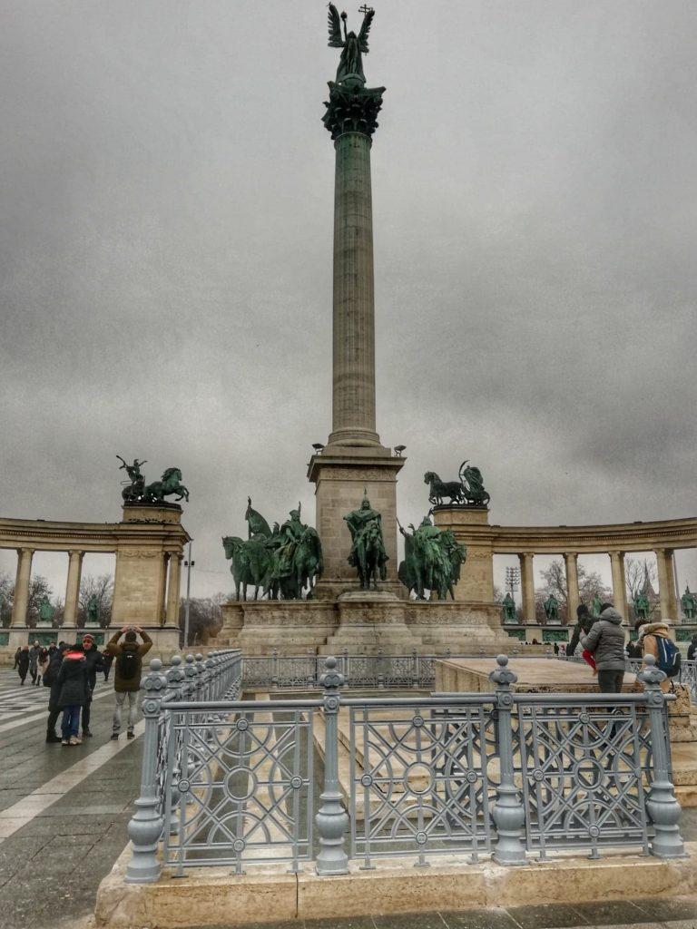 Il Monumento del Millennio - Piazza degli Eroi - Budapest