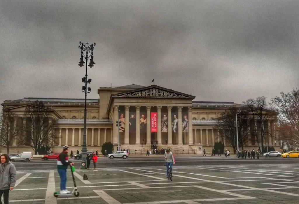 Museo di Belle Arti - Piazza degli Eroi - Budapest