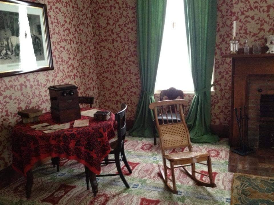 Il salotto in cui Lincoln si intratteneva con famiglia e ospiti - Springfield Illinois
