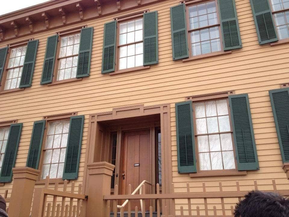 Visitare la casa di Lincoln a Springfield Illinois