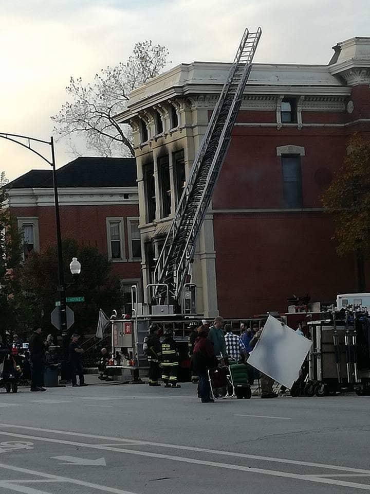 Assistere alle riprese del telefilm Chicago fire
