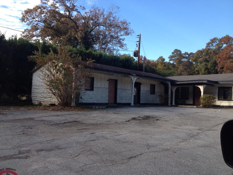 Merle cattura Michonne - Newnan - The Walking Dead location