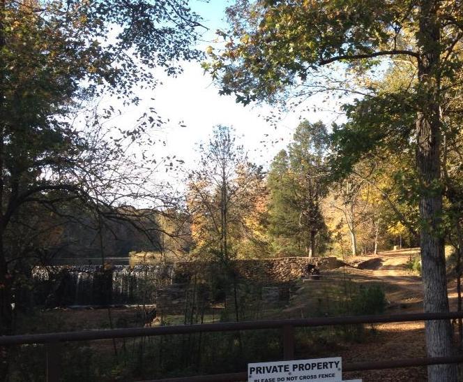 Wlders Mill Road - The Walking Dead location - Senoia