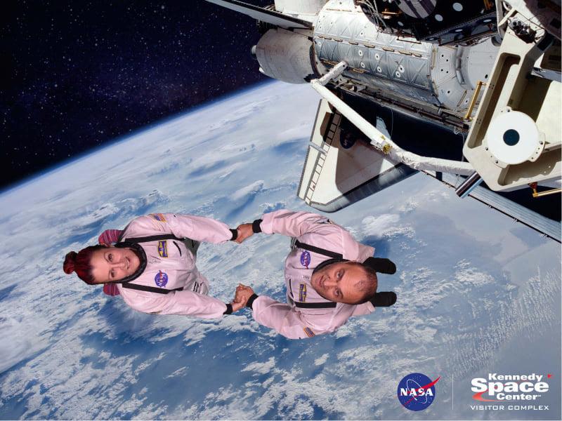 Kennedy Space Center Cape Canveral - Florida - biglietto per andare su Marte Nasa