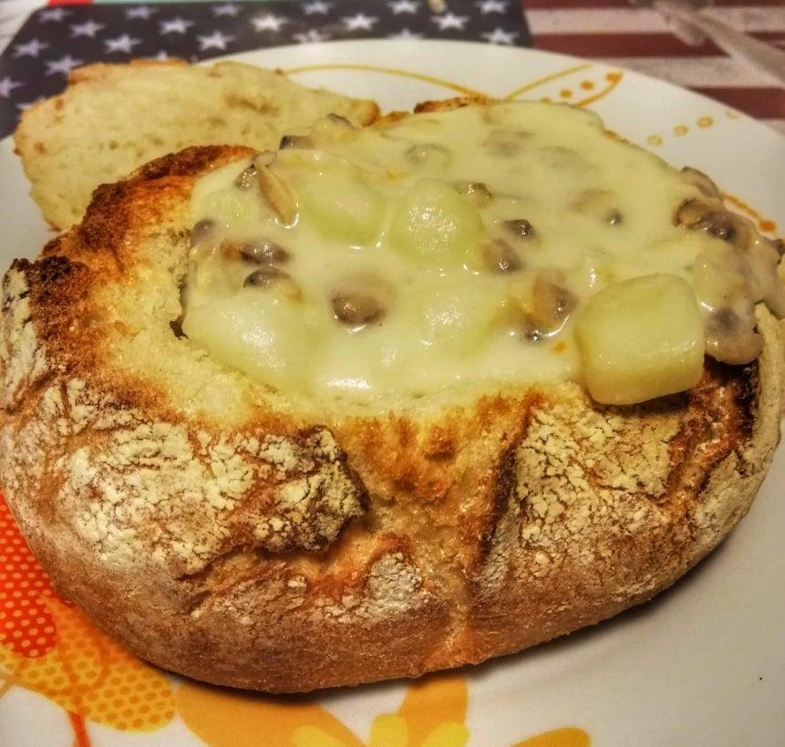 Ricetta Clam Chowder - Zuppa di vongole fatta in casa