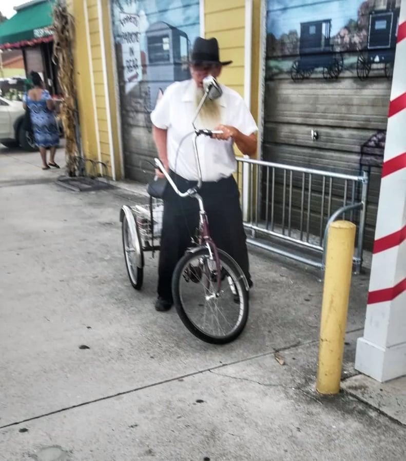 Comunità Amish in America Florida Uomini abbigliamento