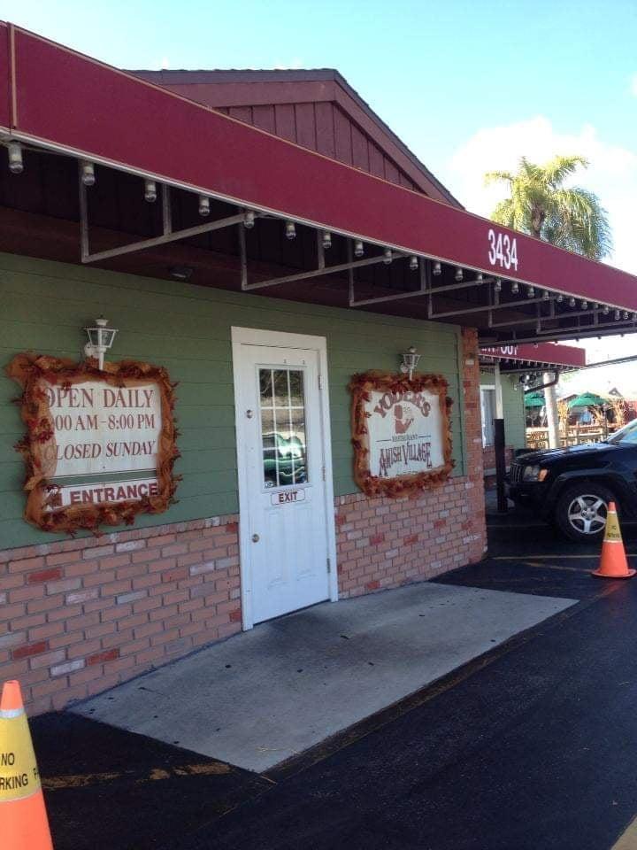 Comunità Amish in America Florida - Negozio souvenir Amish Village - Sarasota - Florida