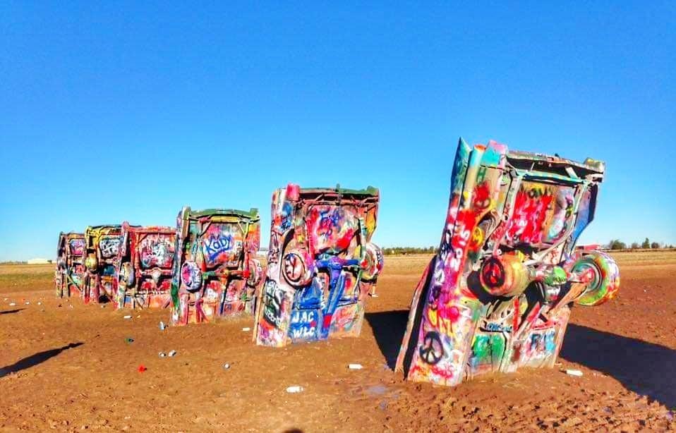 Attrazioni Route 66 Texas Cadillac Ranch