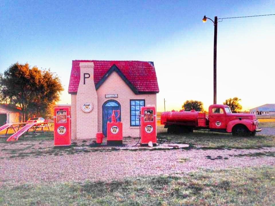 attrazioni lungo la Route 66 in Texas McLean