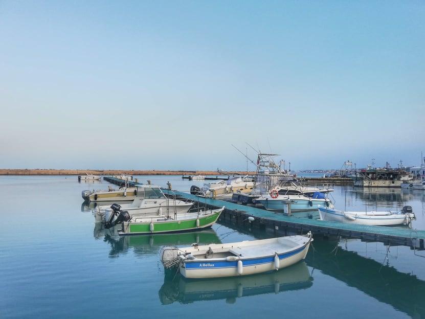cosa fare nella Riviera del Conero all'aria aperta - Porto di Numana