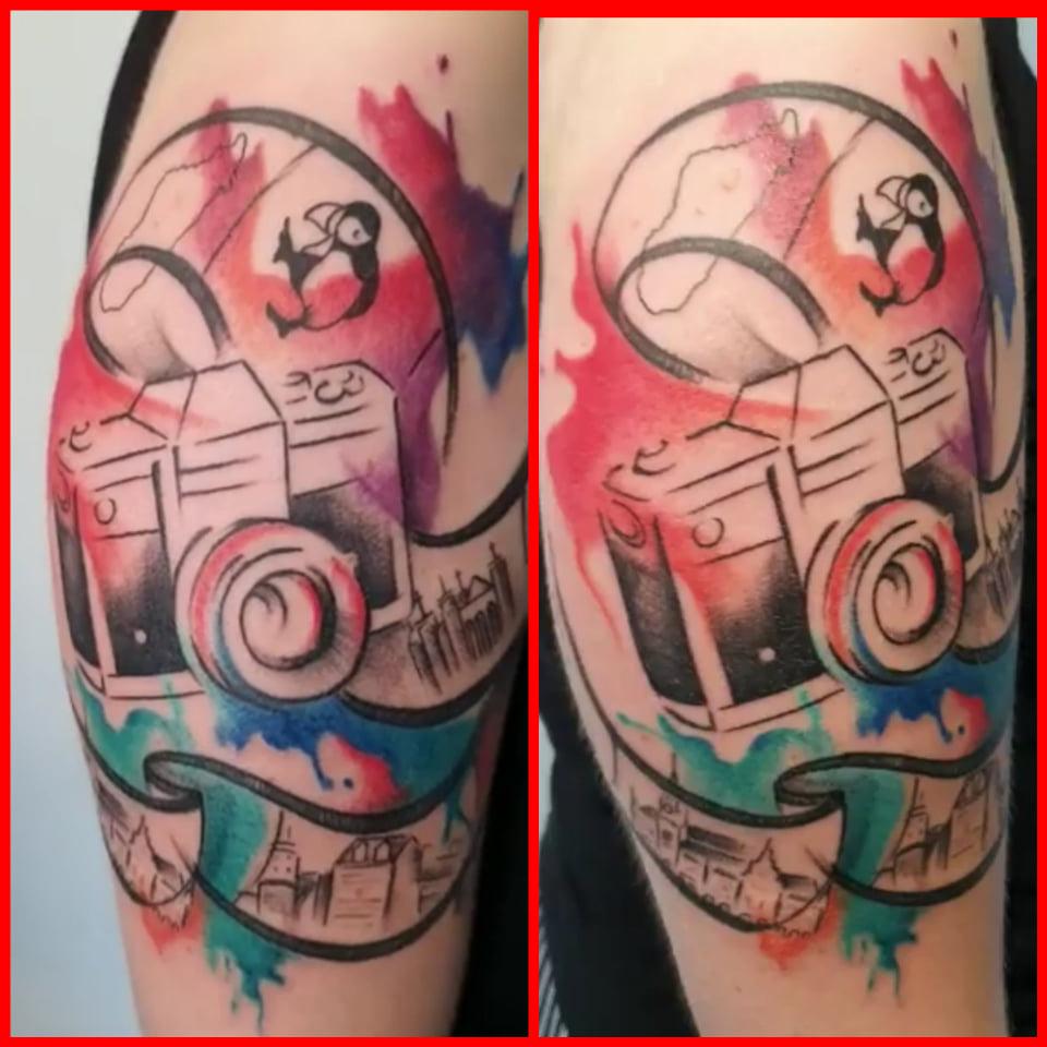 Il tatuaggio di Donnavagabonda tatuaggi per viaggiatori