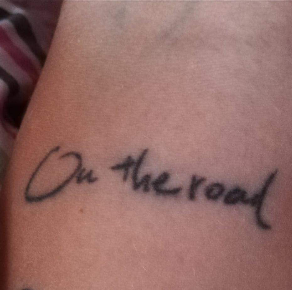 Tatuaggi per viaggiatori - On the road