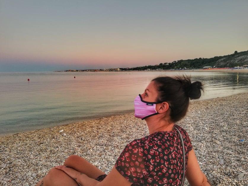 Induo mask mascherina regolabile e lavabile