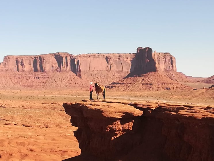 John Ford Point - Monument Valley film ambientati in America