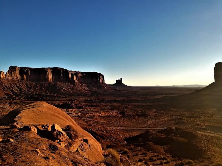 Visita alla Monument Valley - Rocce rosse