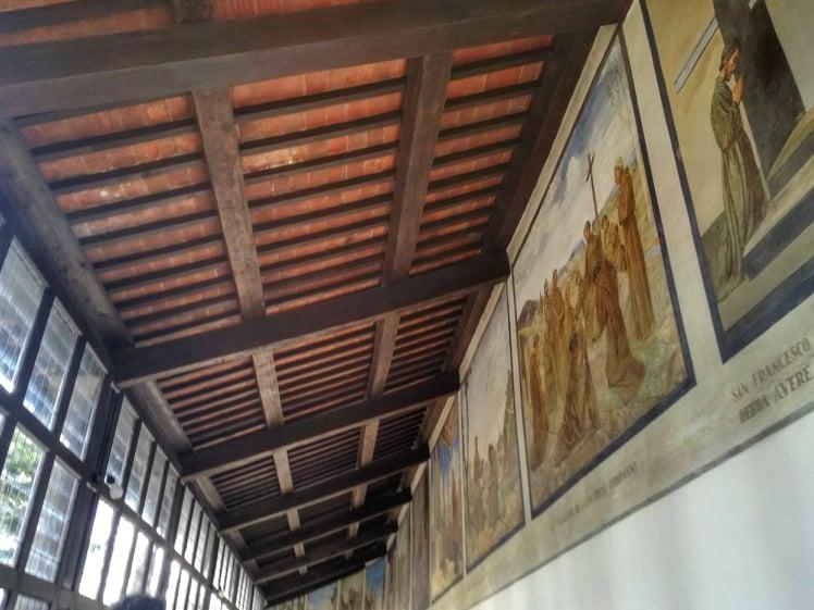 Santuario francescano della Verna cosa vedere - Il corridoio delle Stimmate