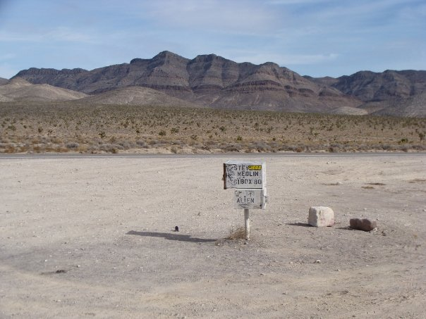 visitare Area 51 Extraterrestrial highway Mailbox