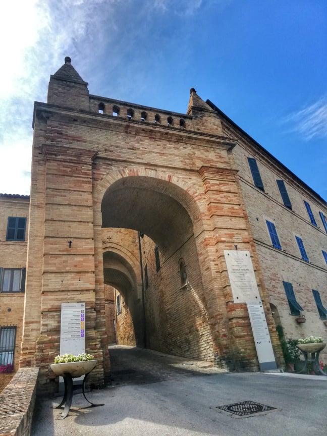 Porta Ulpiana - cosa vedere a Montelupone