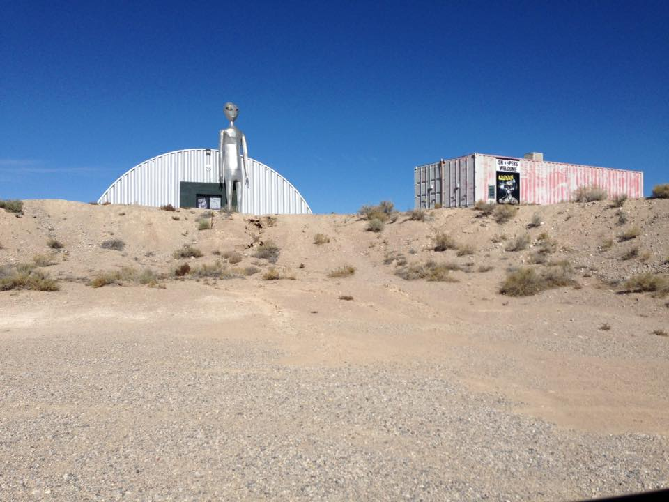 Alien Research Center - visitare Area 51 - Extraterrestrial Highway