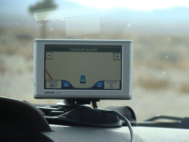 Gps completamente fuori uso - Area 51 Nevada visitare Extraterrestrial Highway