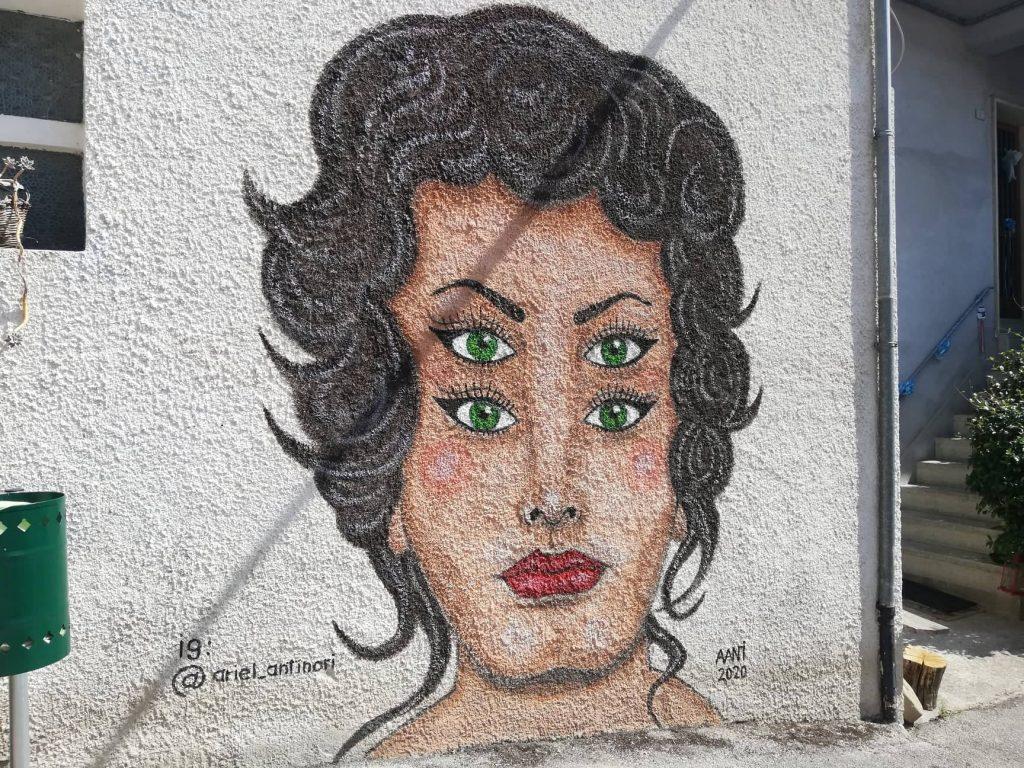 Braccano il paese dei murales