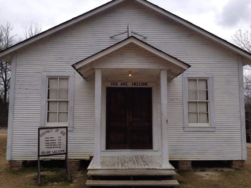 Chiesa in cui Elvis si avvicinò al Gospel - Parco Casa Natale a Tupelo - Mississippi
