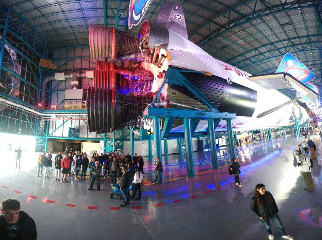 Ingresso Hangar al Kennedy Space Center