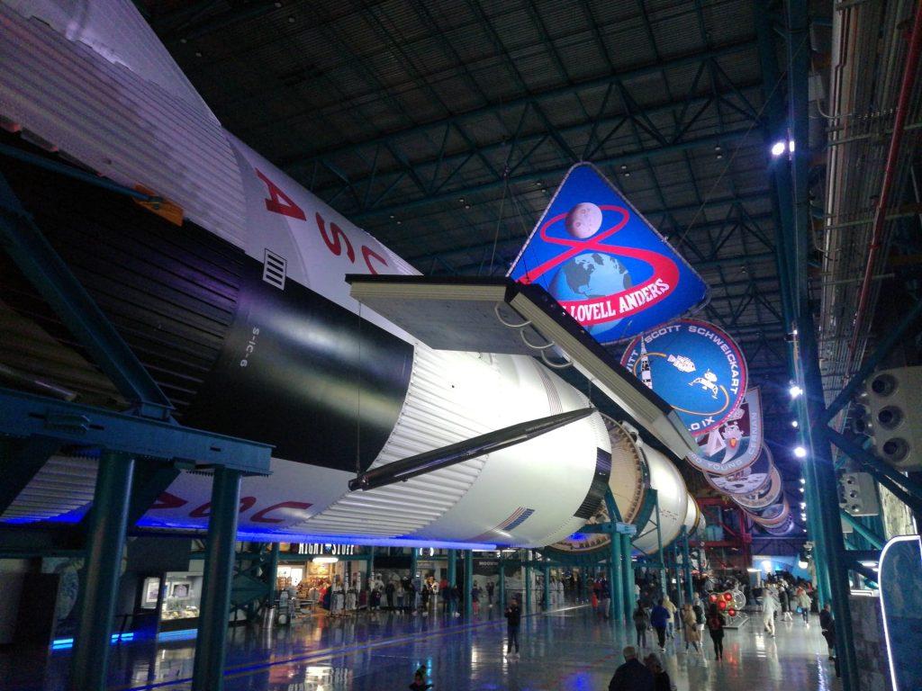 Visita a Cape Canaveral - Un vero Shuttle sospeso sopra le nostre teste